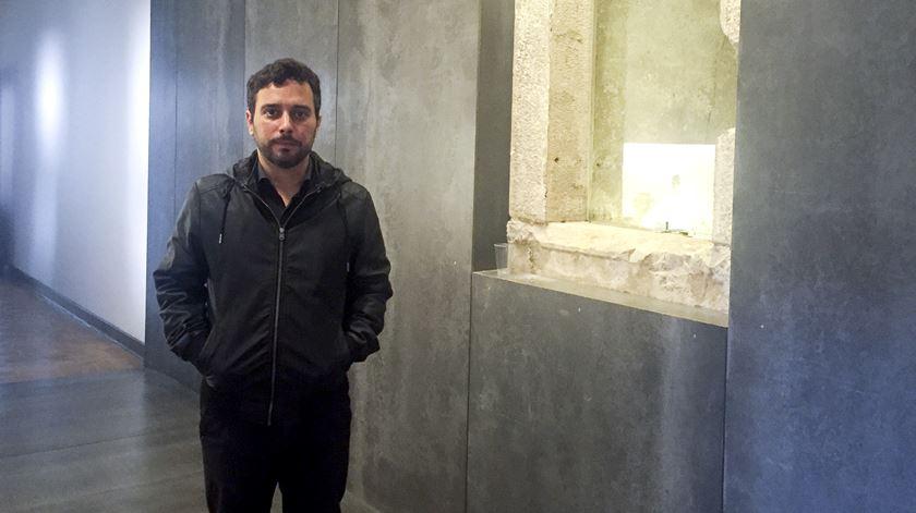 O historiador Miguel Cardina começou a investigar um tema ainda tabu. Foto: Dina Soares/RR