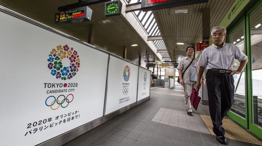 Jogos Olimpicos acontecem em Tóquio em 2020. Foto: DR