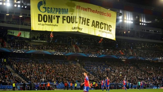 Basileia pode ser castigado por protesto da Greenpeace