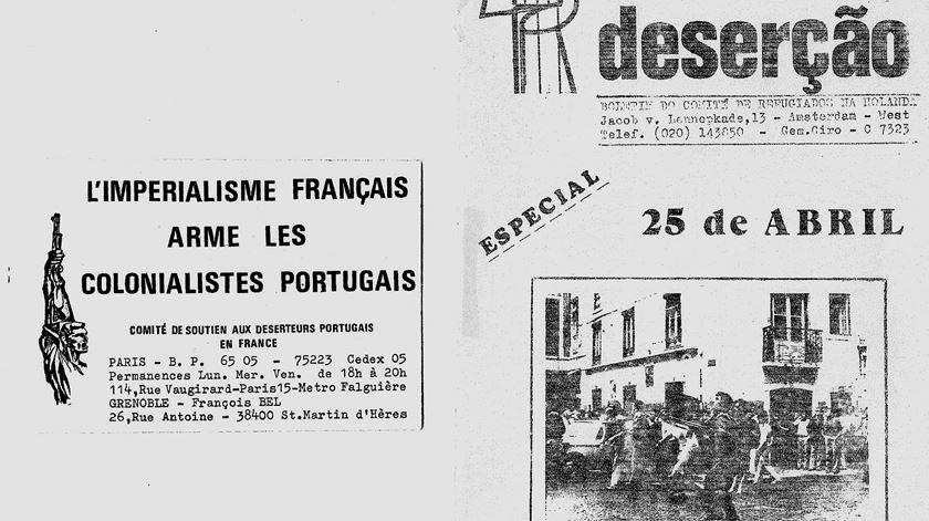reportagem desertores guerra colonial - dina soares - 25-10-16