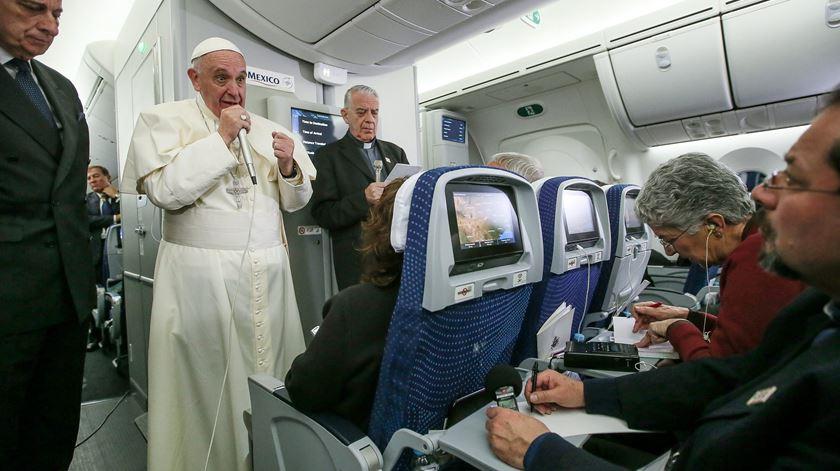 """""""Evitar a gravidez não é um mal absoluto"""", diz o Papa"""