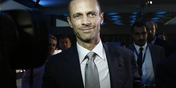 UEFA president admits games behind closed doors until the end of the season