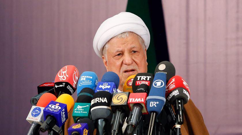 Morreu Rafsanjani, antigo presidente do Irão