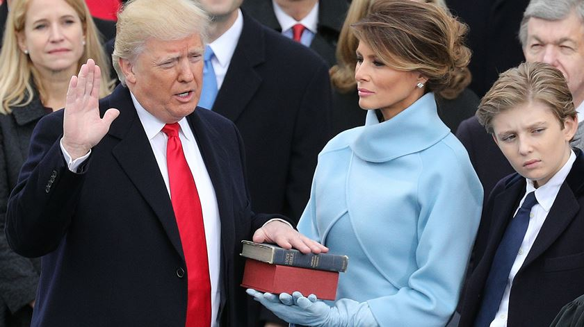 Donald Trump já é Presidente dos Estados Unidos