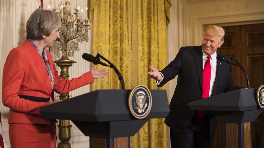 A primeira visita de um líder estrangeiro à Casa Branca de Trump