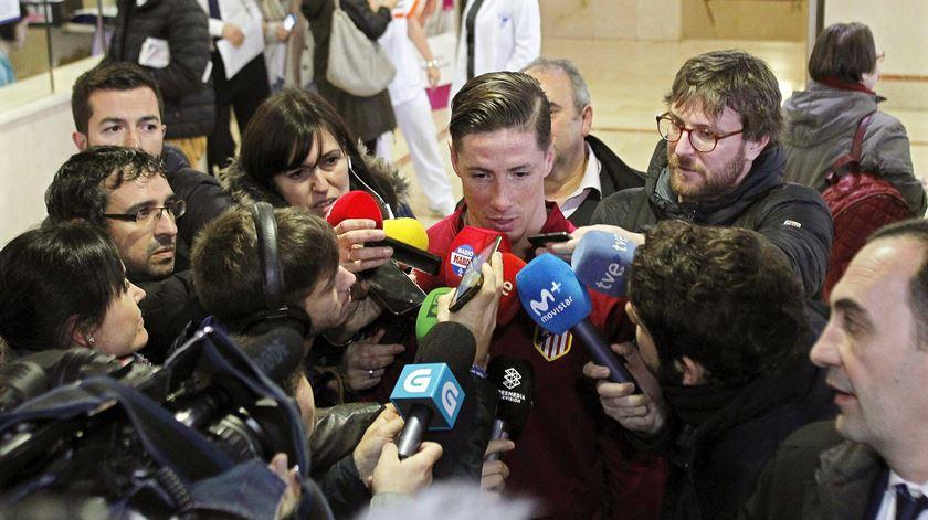 Fernando Torres mostra-se ansioso para o resto da temporada. Foto: EPA
