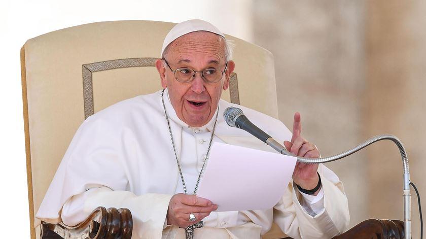 """Papa. Tirar trabalho às pessoas é """"pecado gravíssimo"""""""