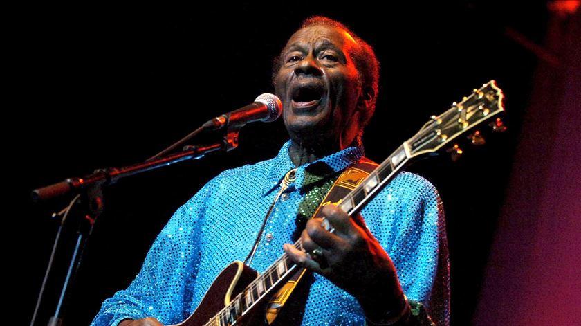 Morreu Chuck Berry