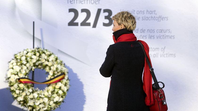 Bruxelas assinala um ano após os atentados