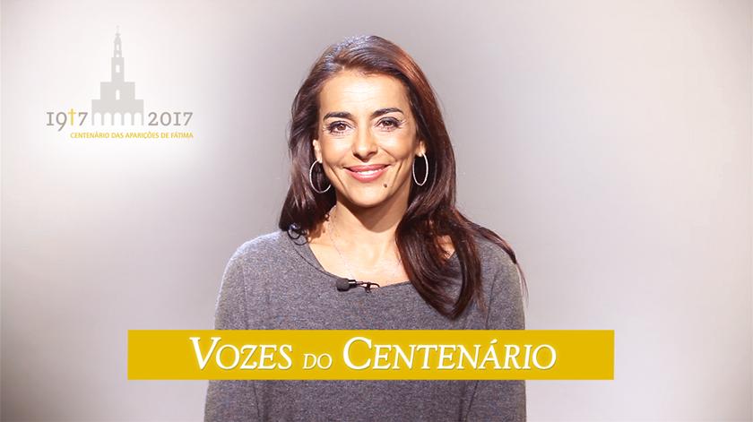 """Catarina Furtado: """"Todos nós temos qualquer coisa que nos liga a Fátima"""""""