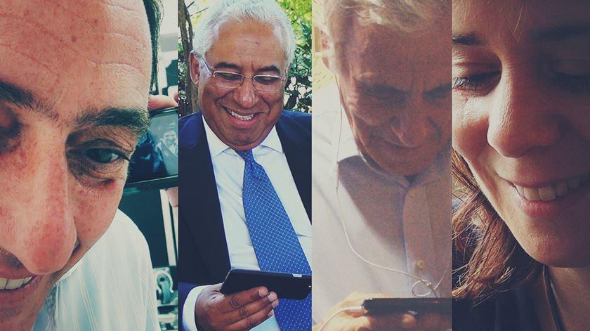 Roubámos 100 segundos aos líderes – e alguns sorrisos. O último filme do dia de campanha