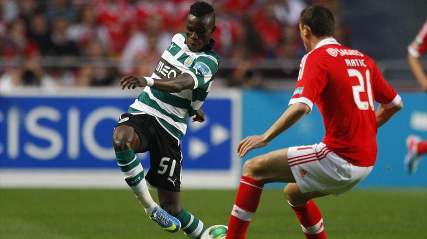 Bruma deixou o Sporting em 2013 e desde então representou o Galatasaray, Real Sociedad e RB Leipzig. Foto: DR