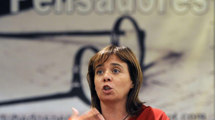 Líder do BE no Clube dos Pensadores. Foto: Fernando Veludo/Lusa