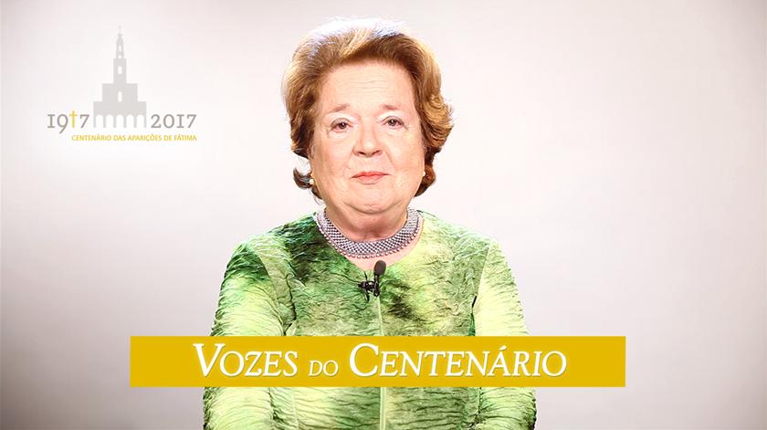 """Matilde Sousa Franco: """"Tenho uma devoção imensa a Nossa Senhora"""""""