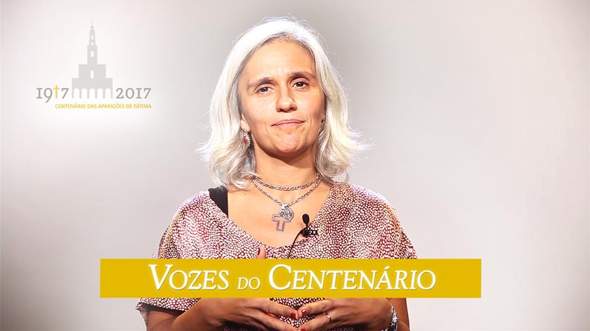 """Rita Carvalho: """"Fátima é oração, conversão, penitência e paz"""""""