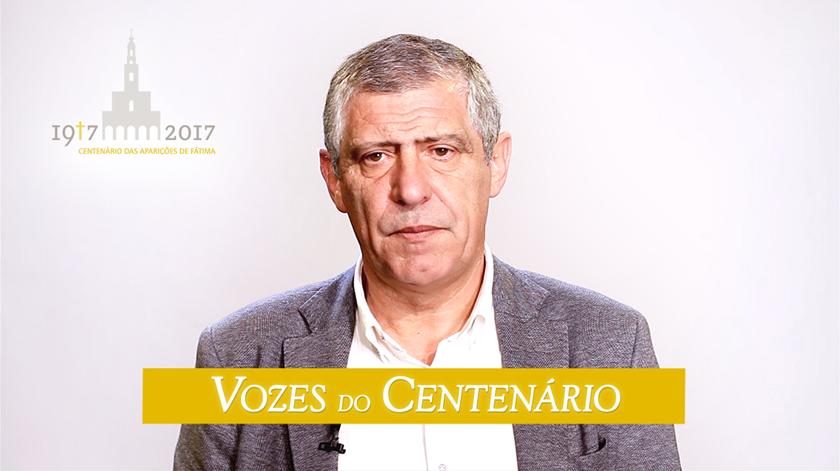 """Fernando Santos: """"Tudo seja feito sempre pela honra e glória do Seu Filho"""""""