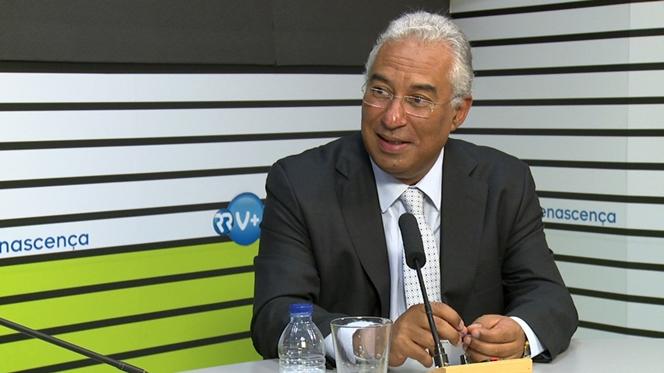 """António Costa: """"Pensões vão voltar aos níveis de 2011"""""""