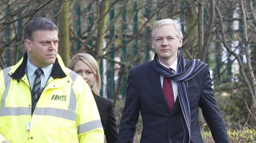 Oficial. EUA pedem ao Reino Unido que extradite Assange