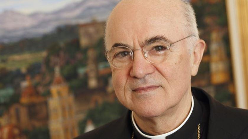 Ex-núncio apostólico do Vaticano visou diretamente o Papa. Foto: DR
