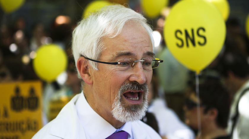 José Manuel Silva, actual bastonário da Ordem dos Médicos, é um dos subscritores da carta. Foto: José Sena Goulão/Lusa