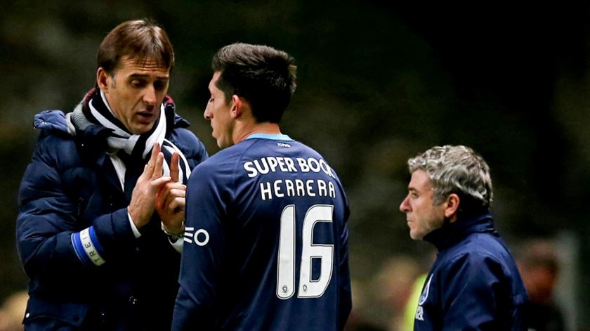 Lopetegui treinou Herrera no FC Porto. Foto: DR