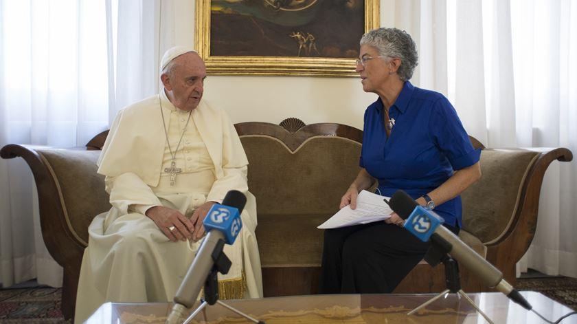 Entrevista na íntegra ao Papa Francisco (14/09/2015)