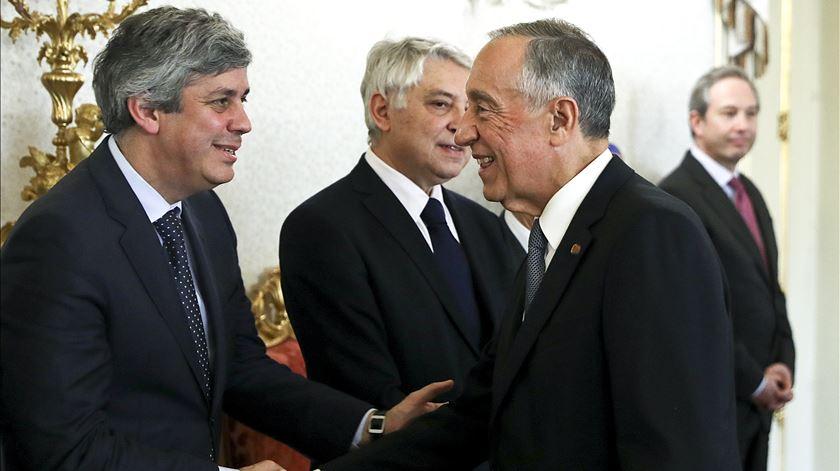 Marcelo desvaloriza divergências entre Costa e Centeno sobre orçamento da zona euro