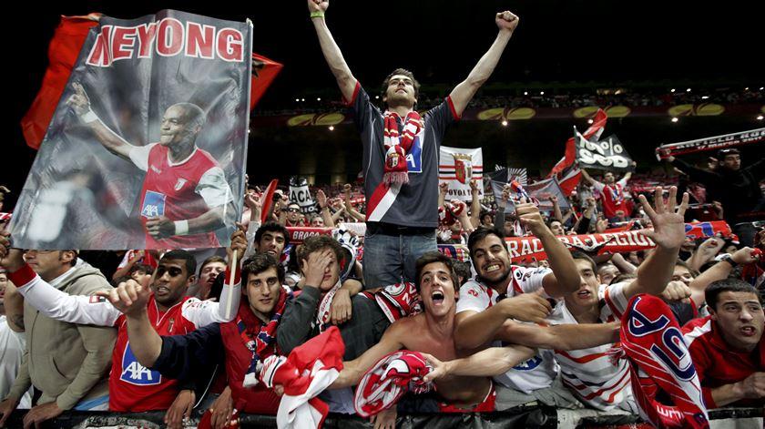 PSP deteve um adepto do Braga que estava interdito de ir a estádios
