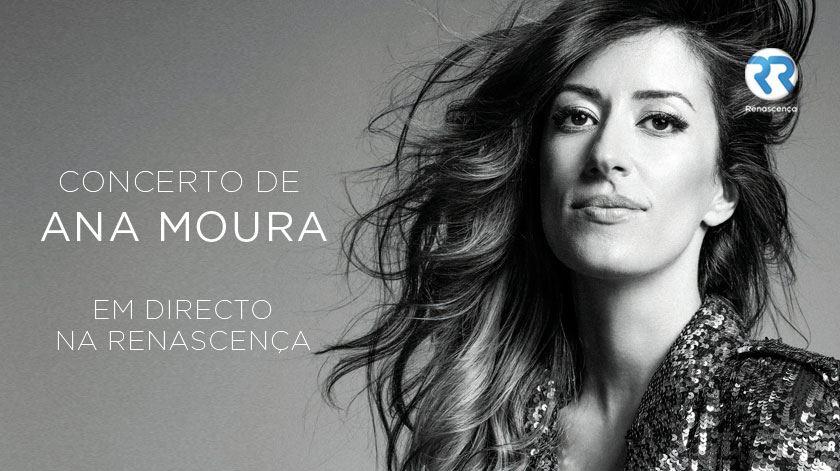 Oiça o concerto de Ana Moura em direto na Renascença