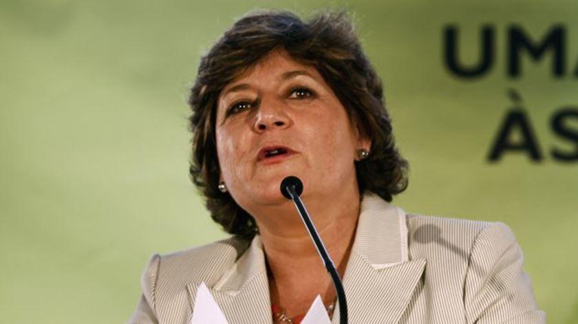 """Candidata presidencial pelo PS? Ana Gomes diz que """"António Costa jamais o permitirá"""""""