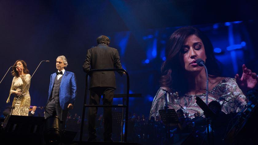 "Andrea Bocelli canta ""Besame mucho"" com a convidada Ana Moura"