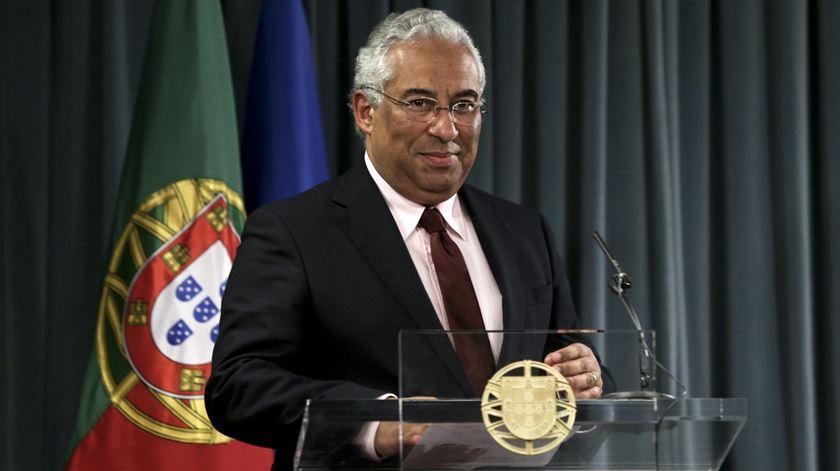 António Costa comenta presidenciais. Foto: Miguel A. Lopes/Lusa