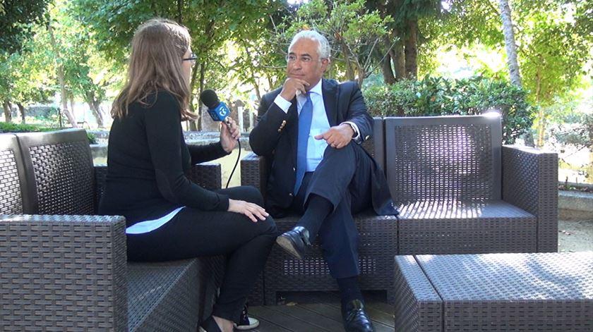 Veja a versão alargada da entrevista a António Costa