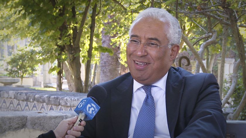 """António Costa em entrevista: """"Eleitorado escolha prudente: votar PS"""""""