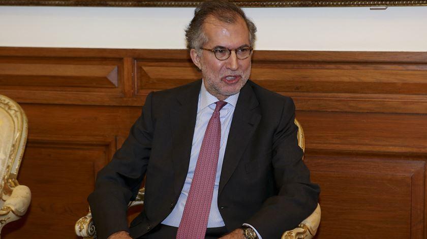 "António Domingues diz estar a cumprir ""escrupulosamente a lei"". Foto: Miguel A. Lopes/Lusa"
