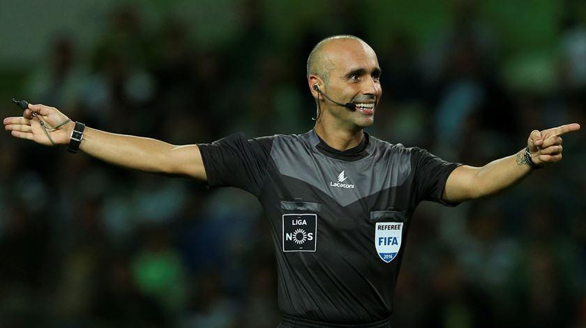 João Capela dará o apito final na 21ª jornada da I Liga. Foto: José Sena Goulão/Lusa