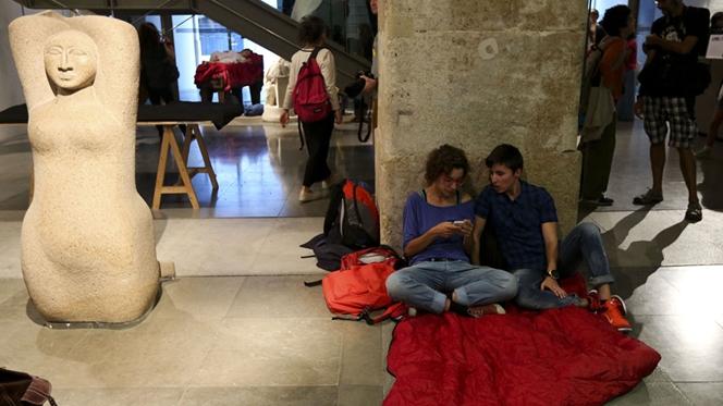 Terminou a ocupação do Museu do Chiado
