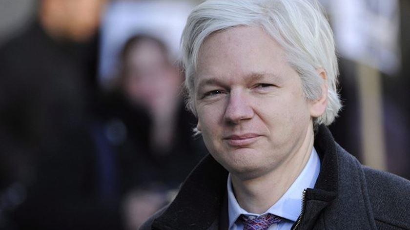 Assange foi preso depois de ter vivido sete anos refugiado na embaixada do Equador em Londres. Foto: WikiLeaks