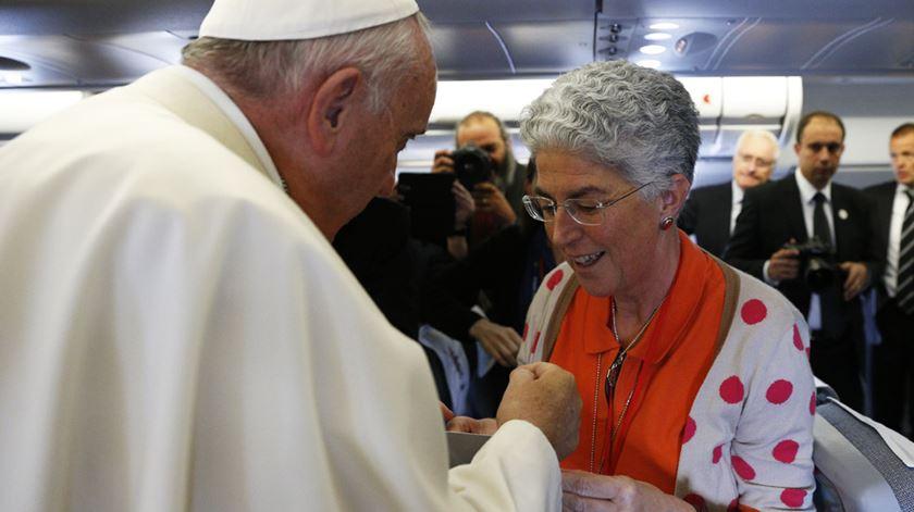 Como a Renascença conseguiu entrevistar o Papa. Aura Miguel explica