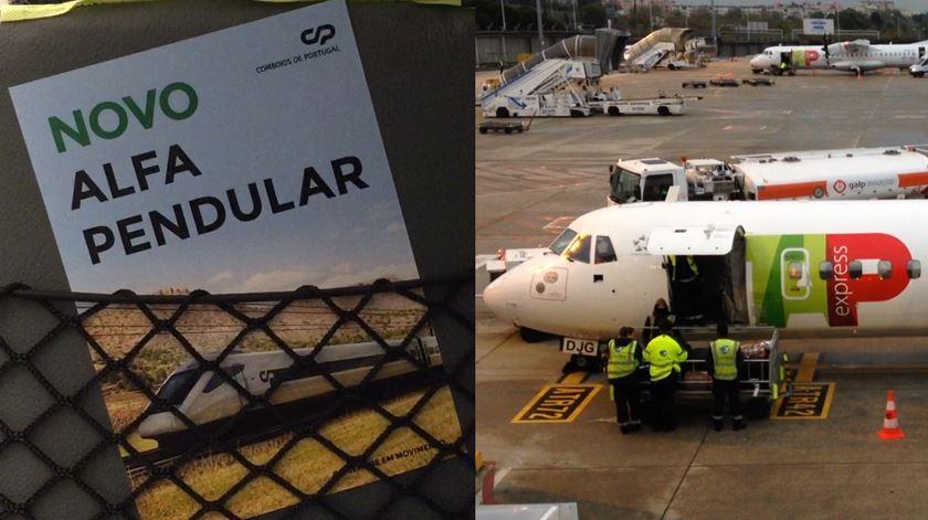 Lisboa-Porto. Avião ou comboio, qual a melhor opção? Fizemos o teste