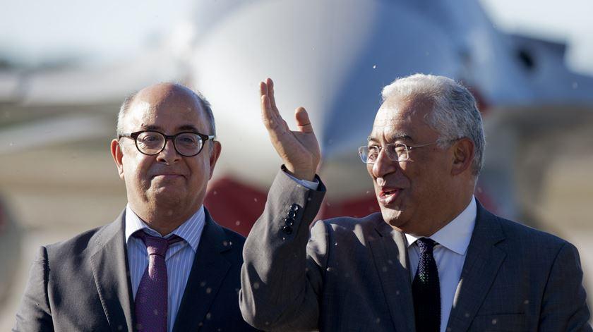 Azeredo Lopes e António Costa. Foto: Paulo Cunha/Lusa