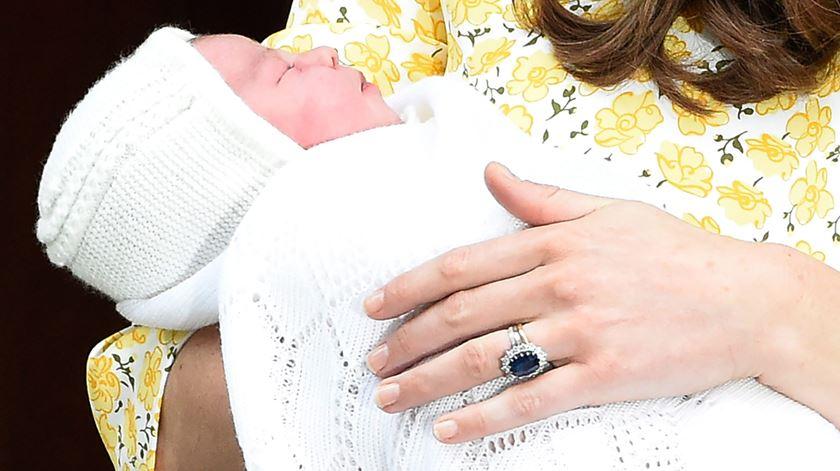 Princesa britânica chama-se Charlotte Elizabeth Diana