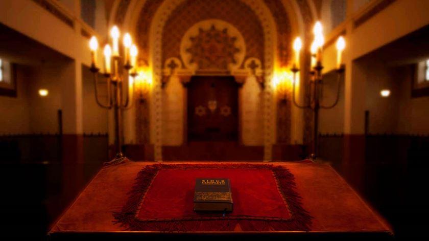 Sinagoga Kadoorie Mekor Haim, no Porto. Foto: Comunidade Israelita do Porto