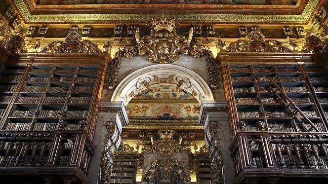 Portugal tem duas das mais bonitas bibliotecas do mundo