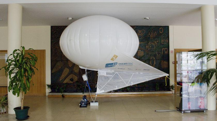 De balão para a tecnologia. Foto: INESC TEC