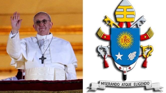 Divulgado brasão do Papa Francisco
