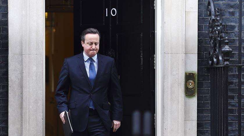 """David Cameron. """"Eu não amo Bruxelas, eu amo a Grã-Bretanha"""""""