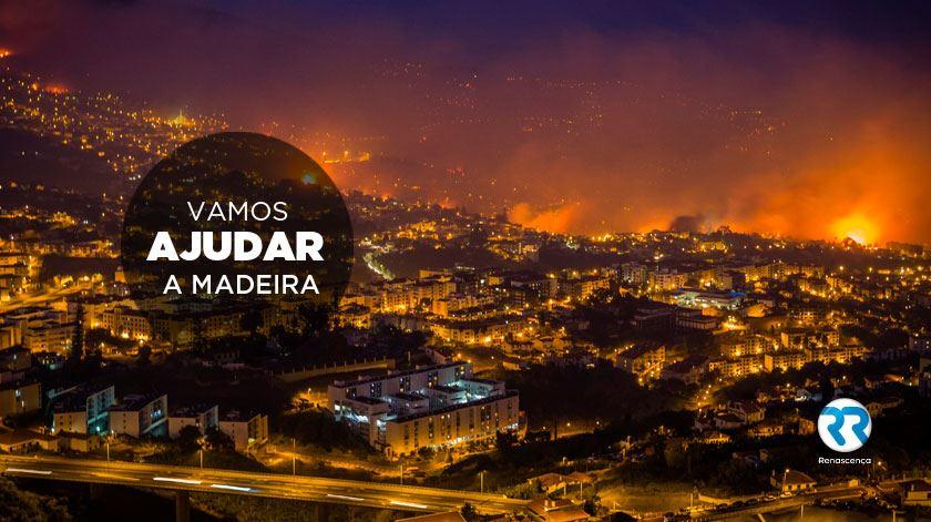 Juntos vamos ajudar a Madeira!