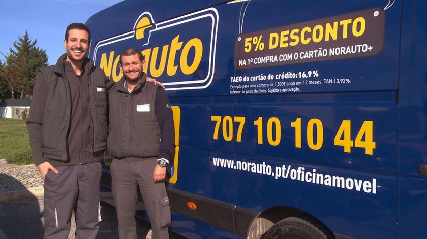 A Oficina Móvel Norauto veio à Renascença responder a um desafio do Renato Duarte