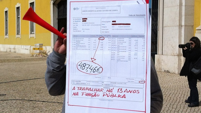 FMI e Governo usam dados deturpados sobre salários em Portugal